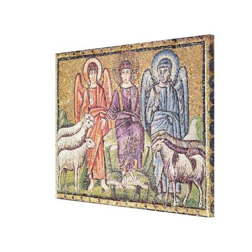 La parábola del buen pastor impresiones de lienzo