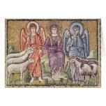 La parábola del buen pastor tarjeta de felicitación
