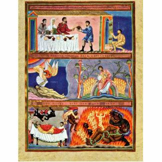 La parábola del folio del hombre rico y de Lazarus Fotoescultura Vertical