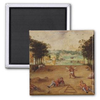 La parábola del trigo y de las vicias, 1540 imán de frigorifico