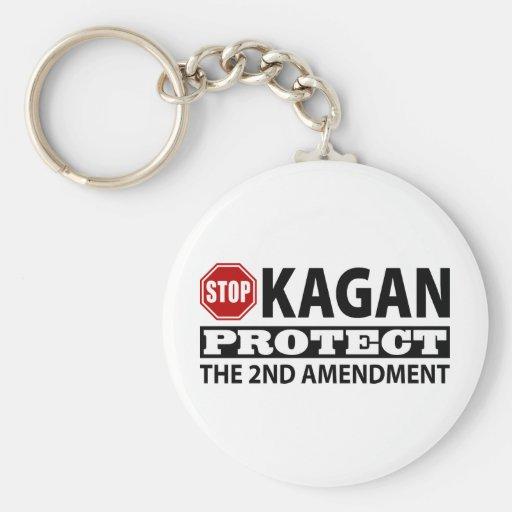 La parada Kagan protege la segunda enmienda Llavero Personalizado