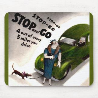 La parada, va, pero no golpea la señora gorda o su mouse pad