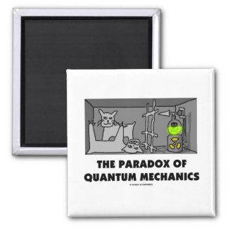 La paradoja de los mecánicos de Quantum (humor de  Imán Para Frigorífico