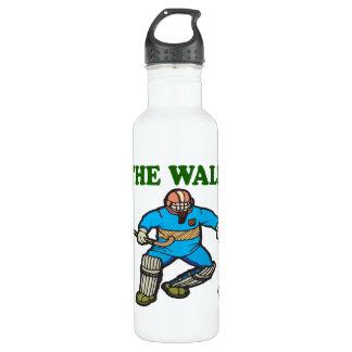 La pared botella de agua de acero inoxidable