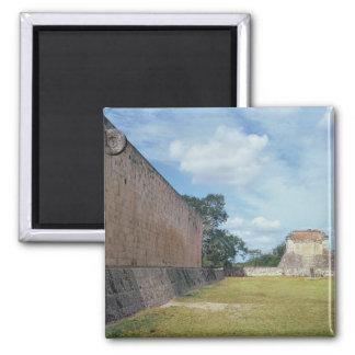 La pared de la corte de la bola imán cuadrado