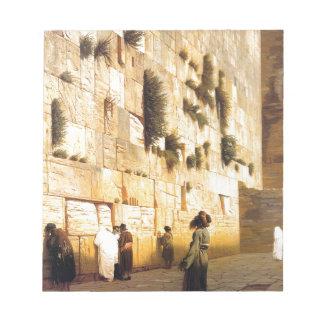 La pared de Solomon, Jerusalén por Jean-León Bloc