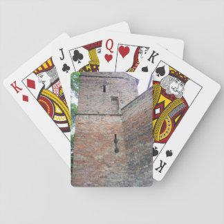 La pared en Augsburg Alemania Baraja De Póquer