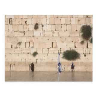 La pared occidental (Kotel), Jerusalén Tarjeta Postal