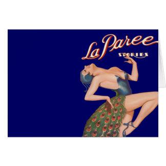 La Paree Stories Greeting Cards
