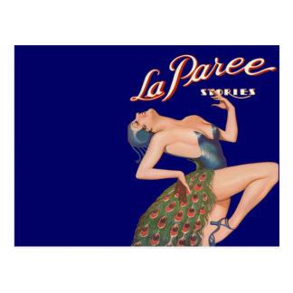 La Paree Stories Post Card