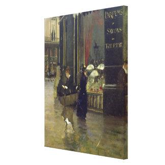 La Parfumerie Viollet, Boulevard des Capucines Canvas Print