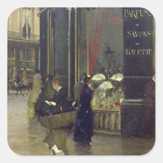 La Parfumerie Viollet, Boulevard des Capucines Square Sticker