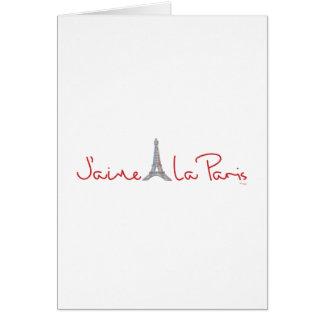 La París amor París de J aime de I Felicitaciones