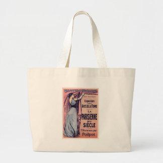 La Parisienne Du Siecle Large Tote Bag