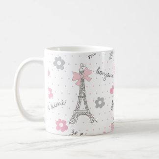 La Parisienne Classic White Coffee Mug