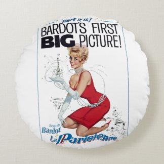 La Parisienne Round Pillow
