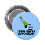 La parodia Jesús ateo ahorra Pins