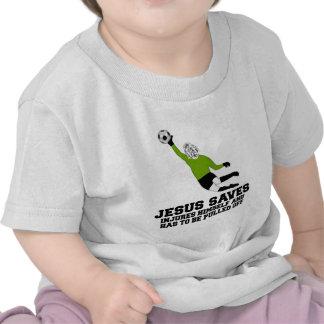 La parodia Jesús ateo ahorra Camisetas