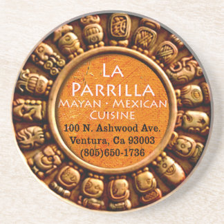 La Parrilla Mexican Restaurant Coaster