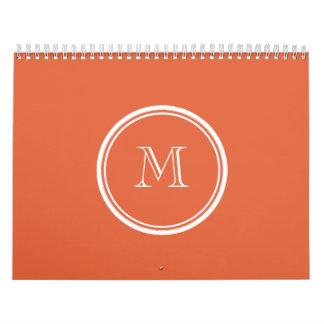 La parte alta de Koi coloreó personalizado Calendarios