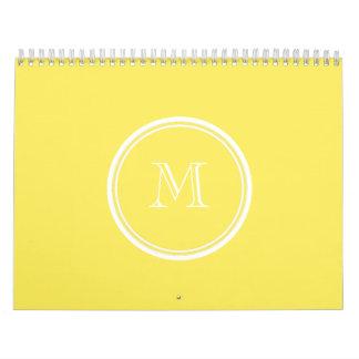 La parte alta del maíz coloreó personalizado calendarios
