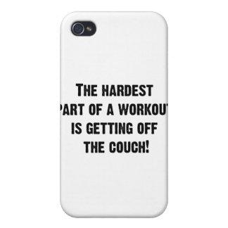 La parte más dura de un entrenamiento iPhone 4/4S carcasa