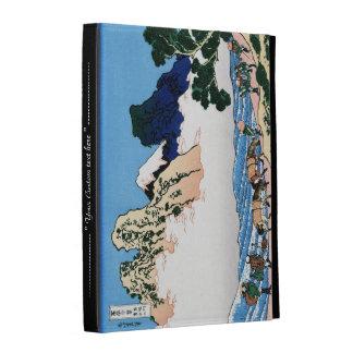 La parte posterior del Fuji del río Hokusai de Min