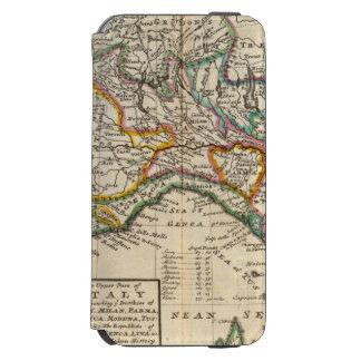 La parte superior de Italia Funda Billetera Para iPhone 6 Watson