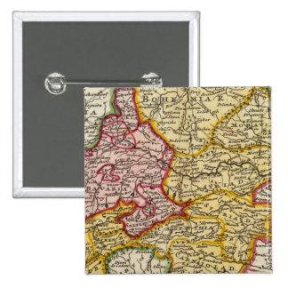 La parte suroriental de Alemania Pin