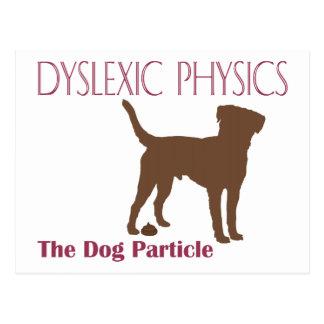 La partícula del perro postal