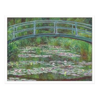 La pasarela japonesa de Claude Monet Postales