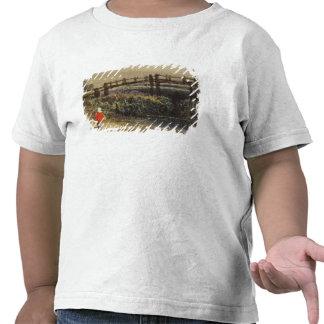 La pasarela (paisaje con la capa roja) (w/c y camisetas