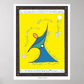 La pasión de Mohamed - impresión Poster