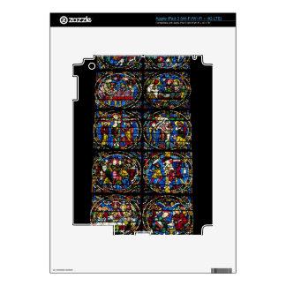 La pasión, ventana de lanceta en la fachada del oe iPad 3 skin