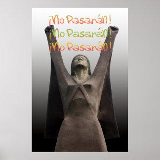 La Pasionaria No Pasaran Poster