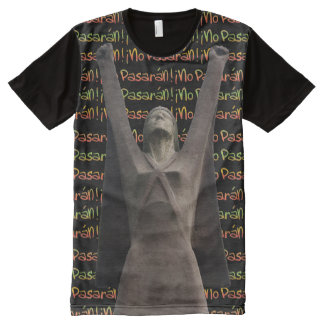 La Pasionaria No Pasaran  T-Shirt All-Over Print T-shirt