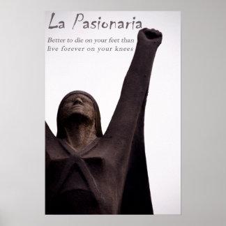 La Pasionaria Poster Print