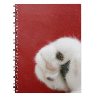 La pata del gato libro de apuntes con espiral