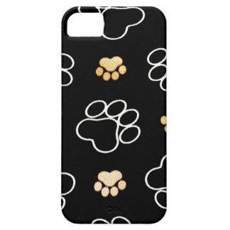 La pata del perrito del perro imprime los regalos iPhone 5 carcasas