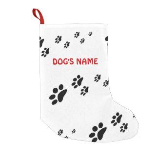 La pata imprime el perro