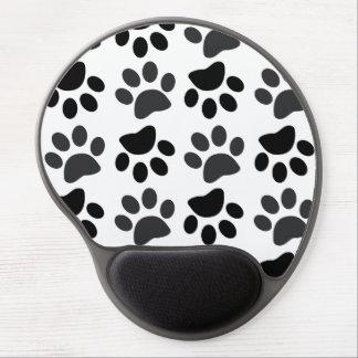 La pata linda del perro imprime el gel Mousepad Alfombrillas Con Gel