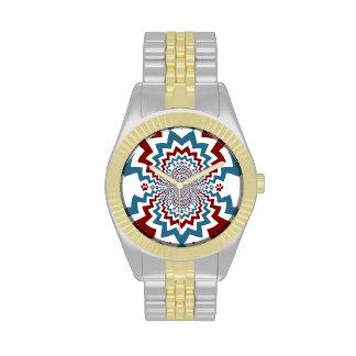 La pata loca del amante del perro imprime el model relojes de pulsera
