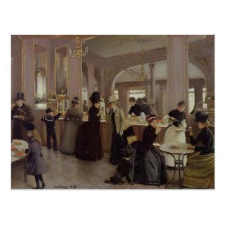 La Patisserie Gloppe Postcard