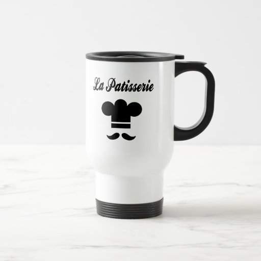 La Patisserie Pastry Chef 15 Oz Stainless Steel Travel Mug
