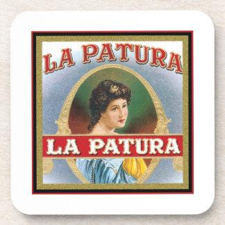 La Patura Vintage Cigar Label Coasters
