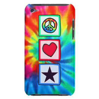 La paz, amor, protagoniza Case-Mate iPod touch fundas