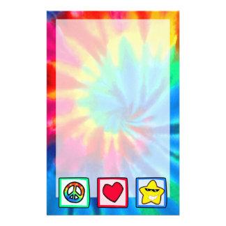 La paz, amor, protagoniza  papeleria