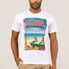 La Paz Baja California Sur Mexico travel poster T-Shirt