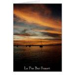 La Paz Bay Sunset Cards