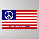 La paz comienza en casa posters